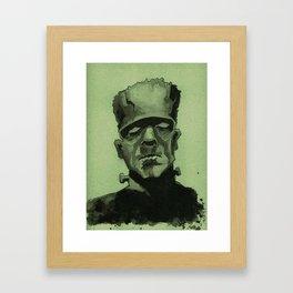 Frankentein's Monster Framed Art Print