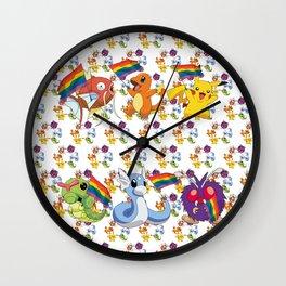 Pride pokemoncover  Wall Clock