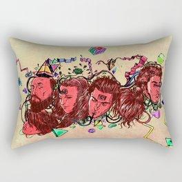 A New Year Rectangular Pillow
