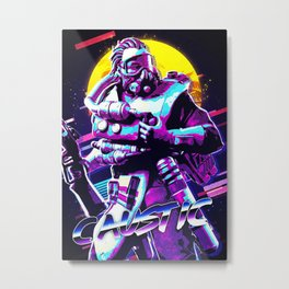 Caustic Apex Legend Metal Print
