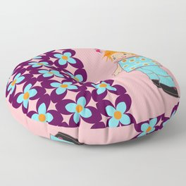 little miss mink Floor Pillow