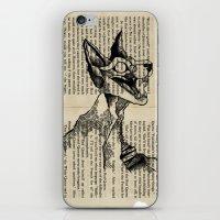 evil queen iPhone & iPod Skins featuring evil queen with texture by vasodelirium