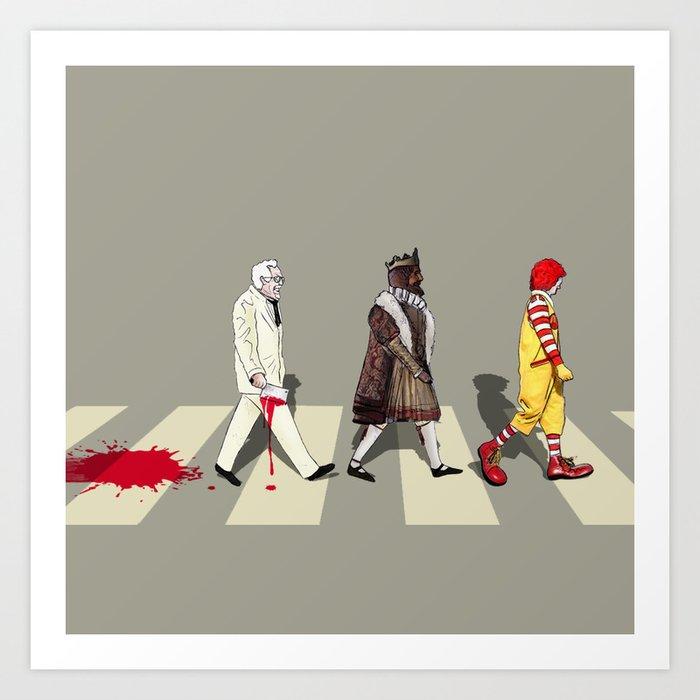The Last Crusade of Abbey Road Art Print