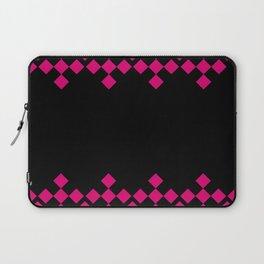 Pink Argyle Pattern Laptop Sleeve