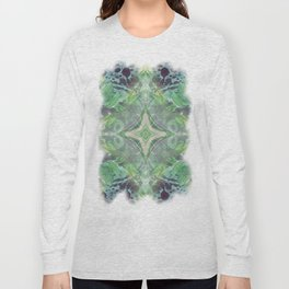 Abstract Texture Long Sleeve T-shirt