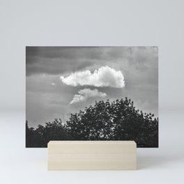 Silver Cloud Mini Art Print