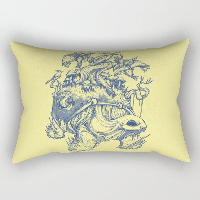 Great Turtle Rectangular Pillow