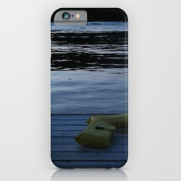 The Lone Lifejacket iPhone Case