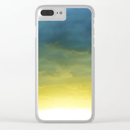 New Day Clear iPhone Case
