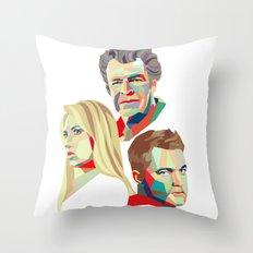Walter, Peter, Olivia Throw Pillow