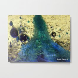 Cave of the Green Pearl Metal Print