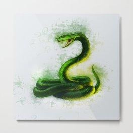 Snake Cobra Metal Print