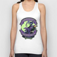 maleficent Tank Tops featuring Maleficent by KanaHyde