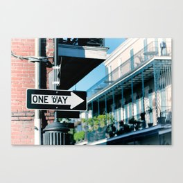 Maybe Canvas Print