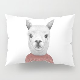 Lama in a sweater Pillow Sham