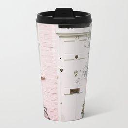 Pink house Travel Mug