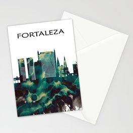 Fortaleza Skyline Stationery Cards