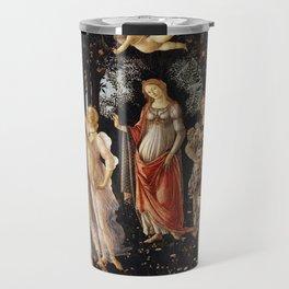 Primavera -Sandro Botticelli Travel Mug