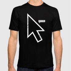 Cursor Mens Fitted Tee Black LARGE