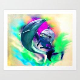 Joyful Hearts Art Print
