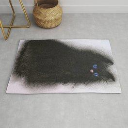 Smudge Cat 1 Rug