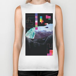 Hidden City Biker Tank