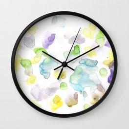 170722 Colour Loving 3 Wall Clock