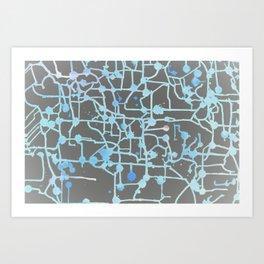 Inverted Circuit Breaker Art Print