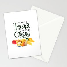 What a Friend We Have in Cheeses Stationery Cards
