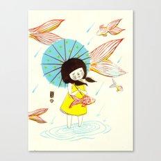 장마   Rainy Season Canvas Print