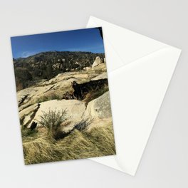Panoramic of the eastern Sierras Stationery Cards