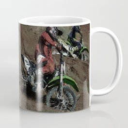 Turning Point - Motocross Racing Coffee Mug