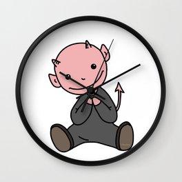 Le Petit Diable Wall Clock