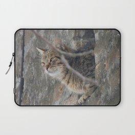 Cat view Laptop Sleeve
