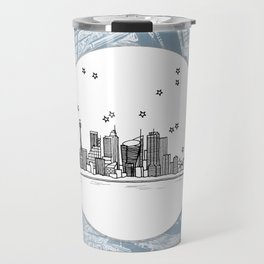 Sydney, New South Wales, Australia City Skyline Illustration Drawing Travel Mug