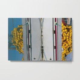 Fishing_Nets - 4 Metal Print