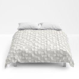 snow falling Comforters