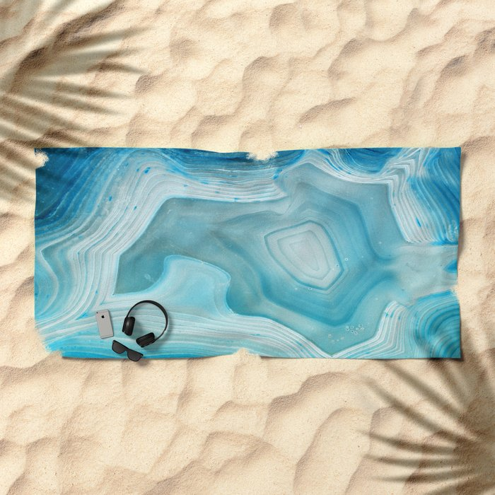 THE BEAUTY OF MINERALS 3 Beach Towel