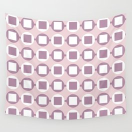 Candy Sweets Pink Champagne Pattern Wall Tapestry