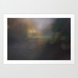 Crepuscular Trepidation Art Print