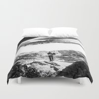 return Duvet Covers featuring Return to isolation planet by Stoian Hitrov - Sto
