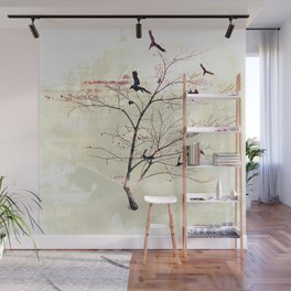 WHITEOUT/neutral Wall Mural