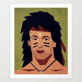 childhood Hero II Art Print
