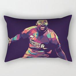 Wijnaldum on WPAP Pop Art Portrait Rectangular Pillow