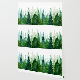 Pine Trees 2 Wallpaper