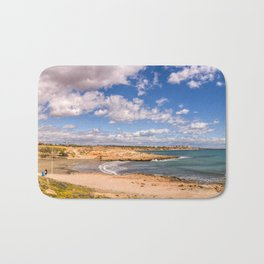 Panoramic view from Cala Mosca Bath Mat