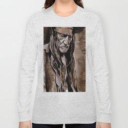 Willie Nelson  Long Sleeve T-shirt