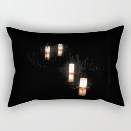 Lanterns of Healing (Japan) Rectangular Pillow