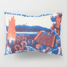 Old Matchbox label #5 Pillow Sham