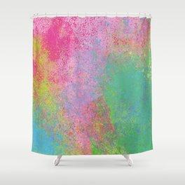 Crayon Corner Shower Curtain
